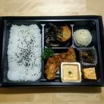 塚田農場 オベントウ&デリ - 「チキン南蛮と炭火焼」弁当