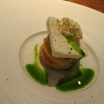 hiroto - トマトの温かいタルト ヨーグルトのパルフェ