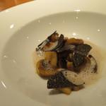 hiroto - マッシュルーム 黒トリュフ 香りのコラボレーションが素晴らしい