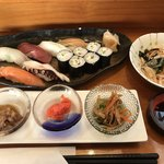 侍寿し - 料理写真:並寿司定食=1393円 税込