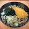 Sobadokoroajinominori - 料理写真:きつねソバ