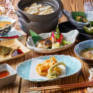 <春の新潟食材に舌鼓>鯛・鰆など旬の食材をご堪能ください