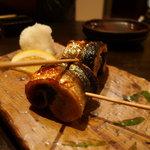 10122665 - おすすめ!秋刀魚の梅しそ串