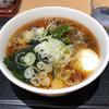 いろり庵きらく - 料理写真:朝食そば380円