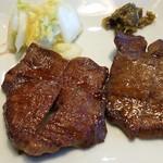 寿松庵 - 牛たん定食
