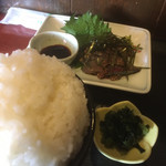 101224773 - 胡麻鯖&トンテキ、贅沢なランチです!