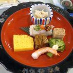 三保園ホテル - 前菜。三保園ホテル(静岡市)食彩品館.jp撮影