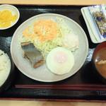 御在所サービスエリア(下り線)とんとん食堂 - 朝定食