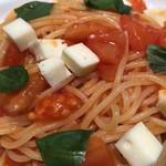 101227823 - 2019.1.25  トマトとモッツァレラチーズのバジリコ風味