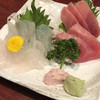 酒蔵北の誉 - 料理写真:カワハギと中トロ