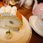 フレグランス - 栗のロールケーキ