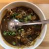 麺屋さ近 - 料理写真:ミニカレー丼(一口味見後)