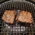 焼肉カーニバル - 上ロース焼き上げ