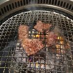 焼肉カーニバル - ハラミ焼き上げ切り
