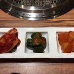焼肉カーニバル - キムチ盛り合わせ