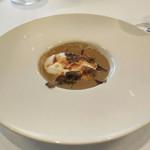 イタリア料理マメトラ - トリュフのスープ