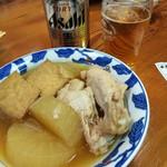赤兎馬 - 大根と手羽元煮