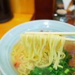 中華そば専門 大阪城 - 麺リフト~