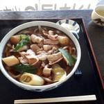 今福屋 - 料理写真:肉うどん特盛770円