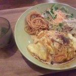 cafe JINA - オムライスランチ950円