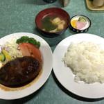Hokushinkenshiyokudou - ハンバーグライス(定食)