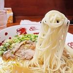 麺屋 晴レ - 素麺とそう変わらん細麺