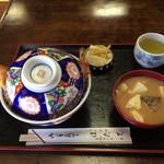 ほたて - 料理写真:「天丼(上)」1150円