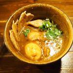 101247952 - ベジポタ味玉肉増しつけ麺