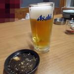 炭火乃 - ドリンク写真:生ビール_500円