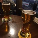 MORRIS'HIPPO - クラフトビールは泡が少な目で入れるのが基本らしい(友人談)