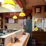 札幌ラーメン こぐま - ★昭和五十年代っぽゐ店内★