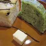 GATTA NERA - ランチセット(ローマ)のパン