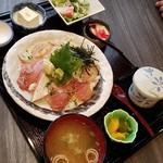 鮮彩ワショク いちりん - 二色漬け丼!