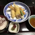 ぎをん 西坂 - 天麩羅御膳