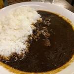 おがた珈琲処 - 黒カレー