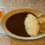 竹輝銅庵 - 料理写真:ブラックカレー