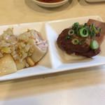 牡丹江 - 豚角煮、蒸し鶏
