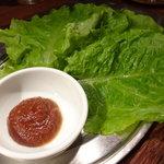 焼肉どんどん - ☆チシャ菜で巻き巻き(^_^)/☆