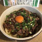 うどん家 山福 - 料理写真:肉ぶっかけ 大盛り
