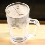 下山酒店 - 芋焼酎水割り