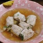 下山酒店 - 水菜の豚巻き