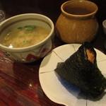 創作郷土料理の店 菊富士 - なんば味噌焼おにぎり 250円 (2019.1)