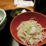 九つ井 - 【ステーキ丼】蕎麦