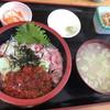 市場食堂 - 料理写真:ネギトロイクラ丼 1200円
