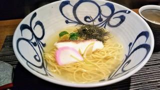 鯛めし 槇 - 鯛そば(ラーメン)