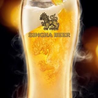 数量限定!シンハの生ビールが道頓堀本店でも飲める!