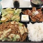Yakisobamorimori - 焼きそば定食