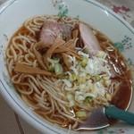 楽天食堂 - 料理写真:中華そば!