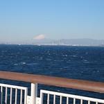101279610 - 天気が良かったので富士山が見えました