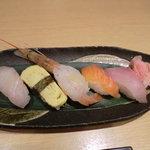 げんき - にぎり寿司5貫